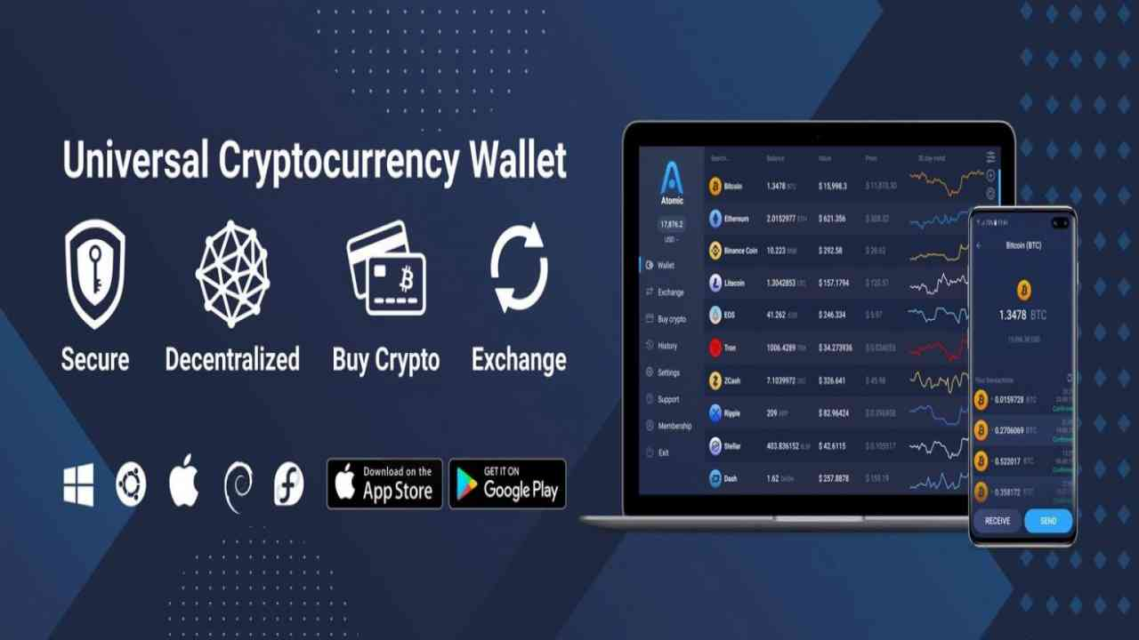 Changelly Atomic Wallet Multicurrency App Options Exchange Crypto You Choose